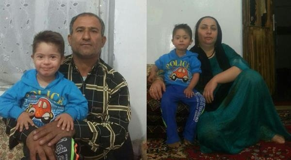 Iran arrested parents for their son's political activity