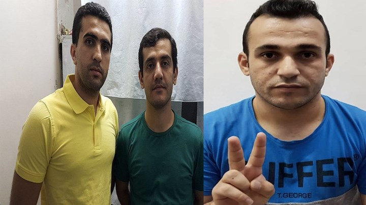 Zanyar, Loghman and Ramin are at serious risk of execution