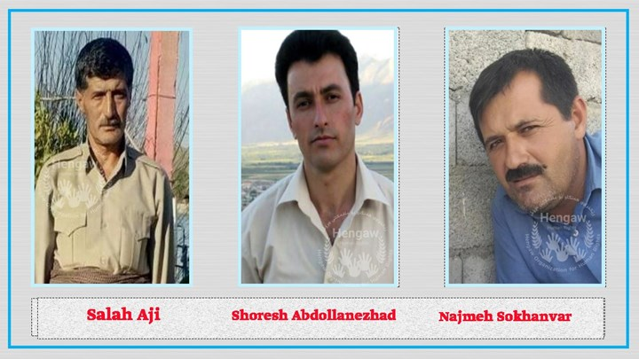 3 Kurdish citizens from Piranshahr  sentenced to  15 years in prison by Iranian judiciary