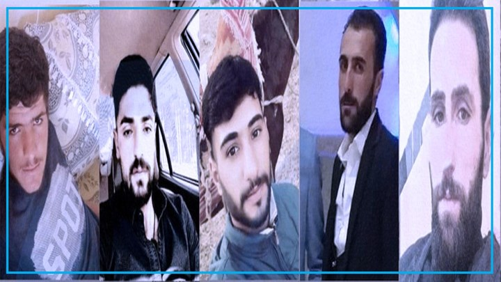 8 days pases and bodies of 5 missing Kurdish Kolbars are still not found