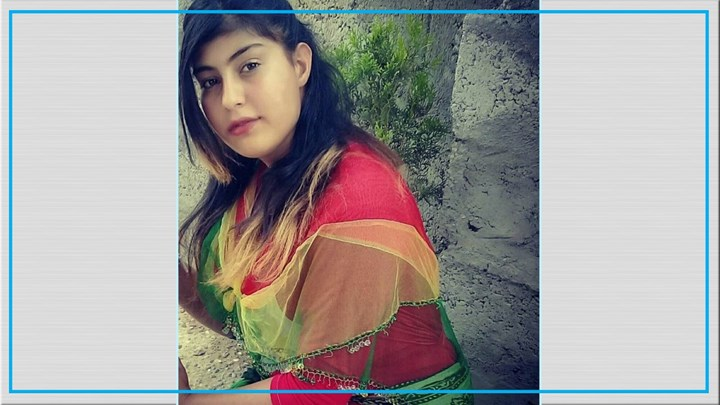 Ainaz Zare, a 17-year-old girl from Urmia,  sentenced to 5 years in prison