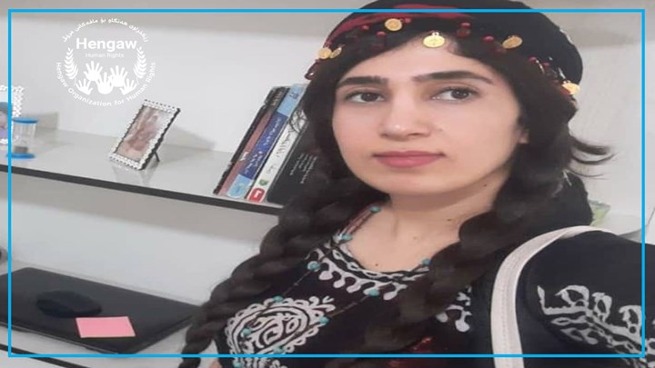 Fereshte Cheraghi the Kurdish social activist and journalist arrested