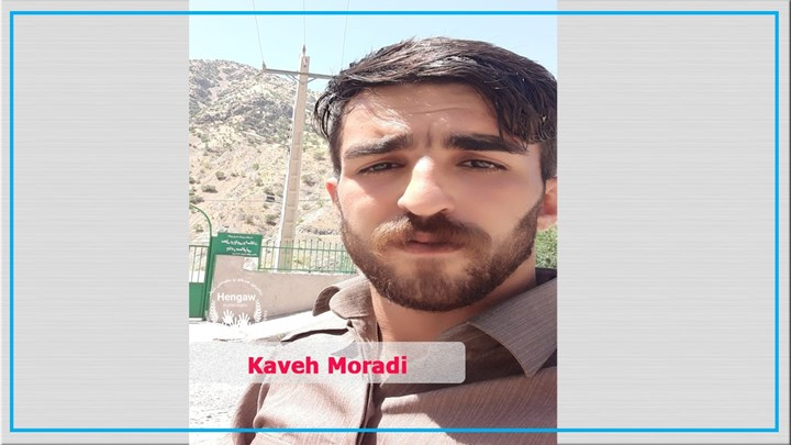 Former Kurdish political prisoner Kaveh Moradi has left Iran due to pressure from Iranian Intelligence service