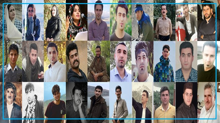 With the arrest of 10  other Kurdish citizens in one day, the number of detainees in Iranian Kurdistan reaches to  44