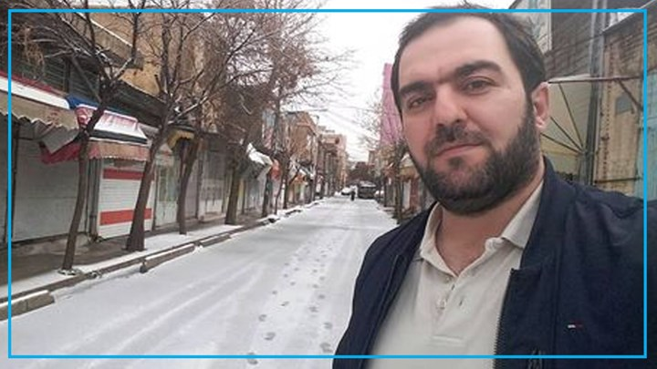 Kurdish civil activist detained  for serving his imprisonment sentence in Ilam