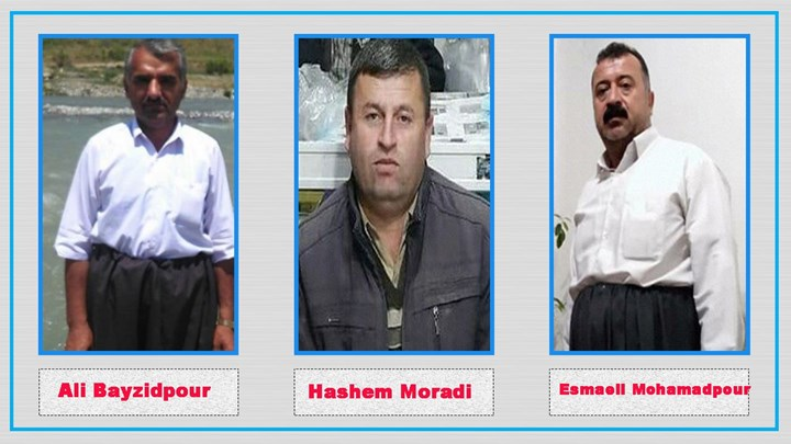 6 Kurdish citizens from Piranshahr sentenced to a total of  30 years in prison