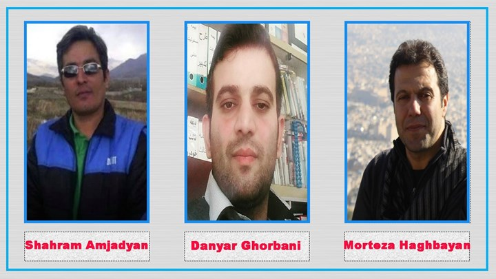 3 Kurdish citizens from Sanandaj sentenced to a total of 9 years in prison